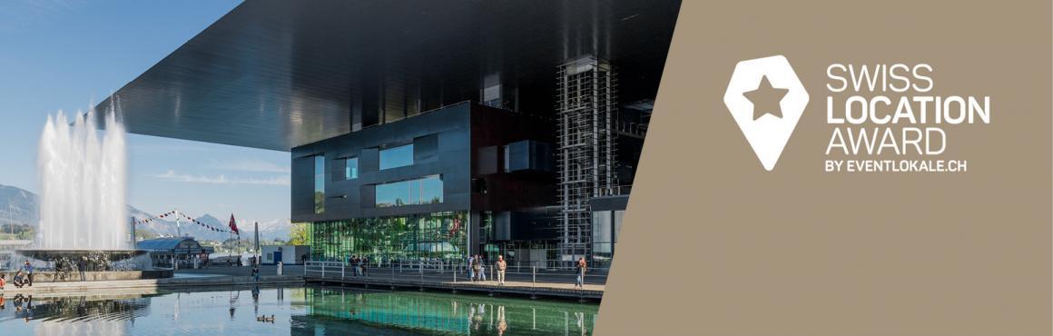 Das KKL Luzern ist nominiert für den Swiss Location Award