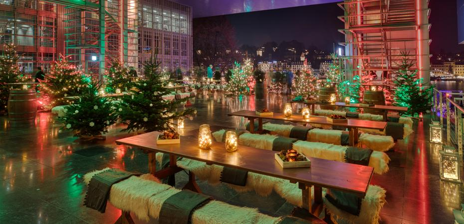 Winterzauber auf der Luzerner Terrasse
