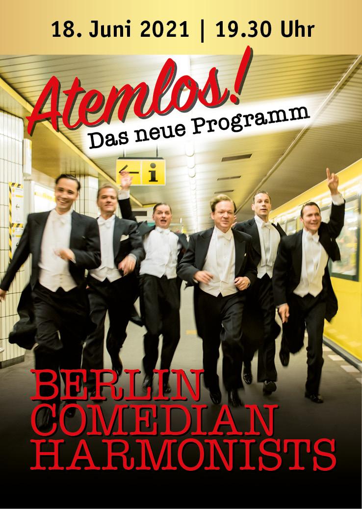 Atemlos! - Berlin Comedian Harmonists - Obrasso Concerts