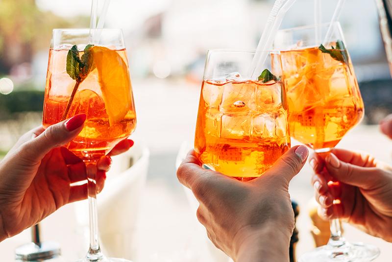 Sommer Lounge Drinks