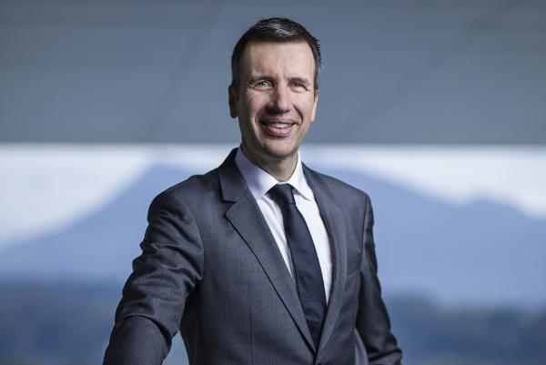 Philipp Keller ist seit 1. April 2017 CEO des KKL Luzern am Vierwaldstättersee.