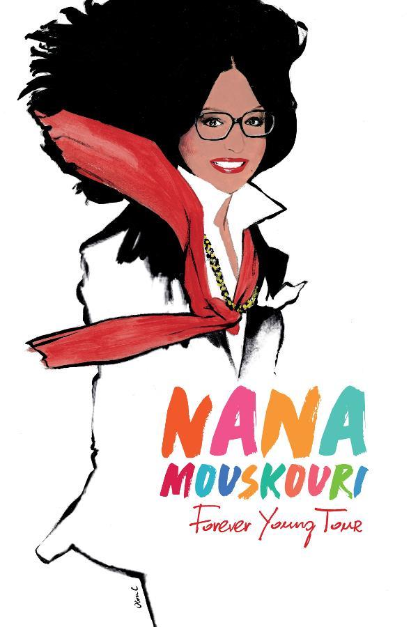 Nana Maskouri - Forever Young Tour, am 12. März 2018 im KKL Luzern