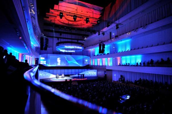 KKL Luzern, Kongress im Konzertsaal