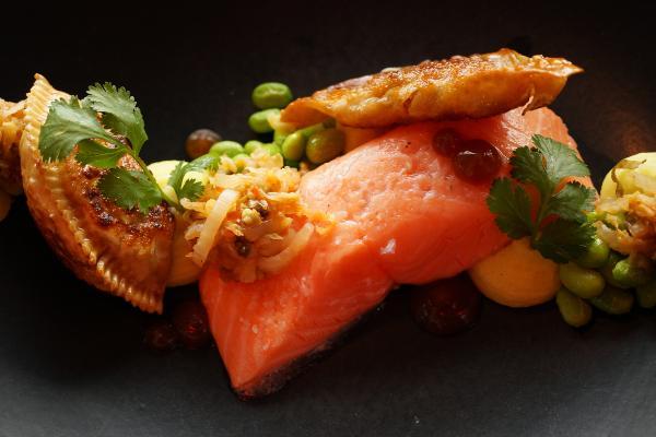 Das Restaurant RED bietet vom 24. bis 28. April 2017 einen skandinavischen Businesslunch an.