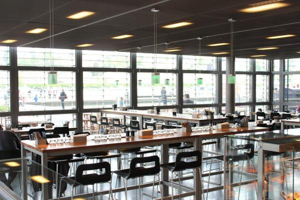 Das Restaurant World Café im KKL Luzern setzt auf Nachhaltigkeit